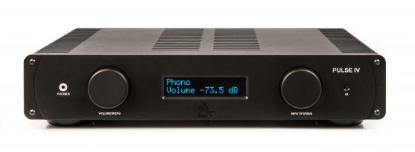 Black Hi-Fi Amplifier
