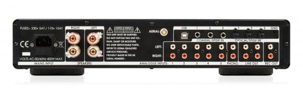 Hi-Fi Amplifier - rear