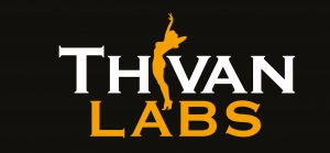 ThivanLabs Logo black